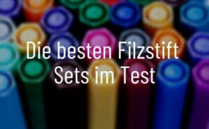Filzstift Set Test