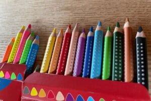 Buntstifte Bruchfestigkeit erste Klasse