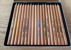 Buntstifte Holz Wasservermalbar