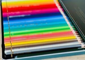 Buntstifte auf Wachsbasis Testkriterien