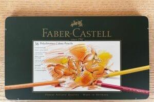 Polychromos Stifte Faber Castell Verwischbarkeit