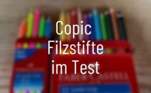 Copic Filzstifte im Test